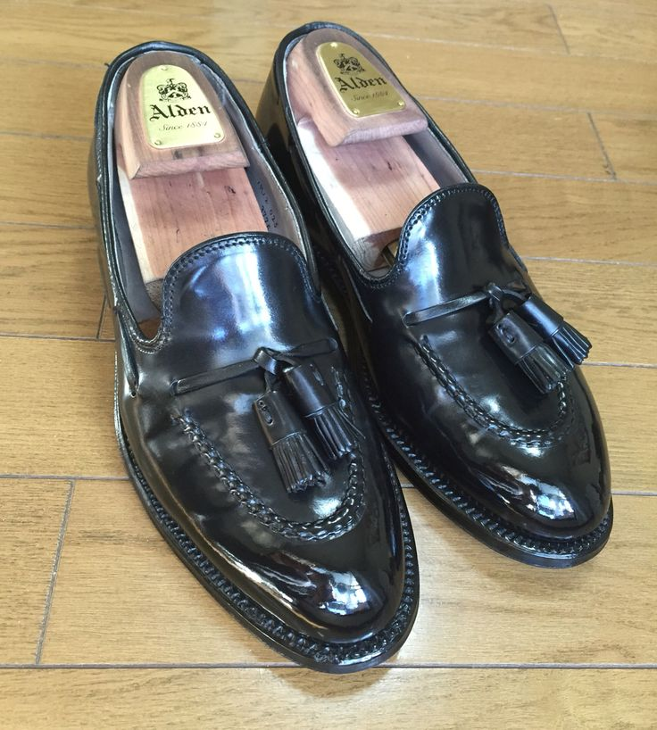 Alden Cordovan Tasseled Loafer Shoeshine