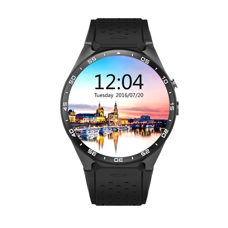 Original KW88 Android 5.1 Smart Watch Phone MTK6580 1.39 inch 400400 Screen 2.0MP Camera Smartwatch for iphone HuaweiSonyXiaomi