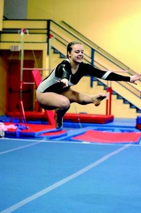 Rhiana Palfy (Prince George) has a simple reason for why she enjoys the floor routines in gymnastics best. [Prince George Citizen]
