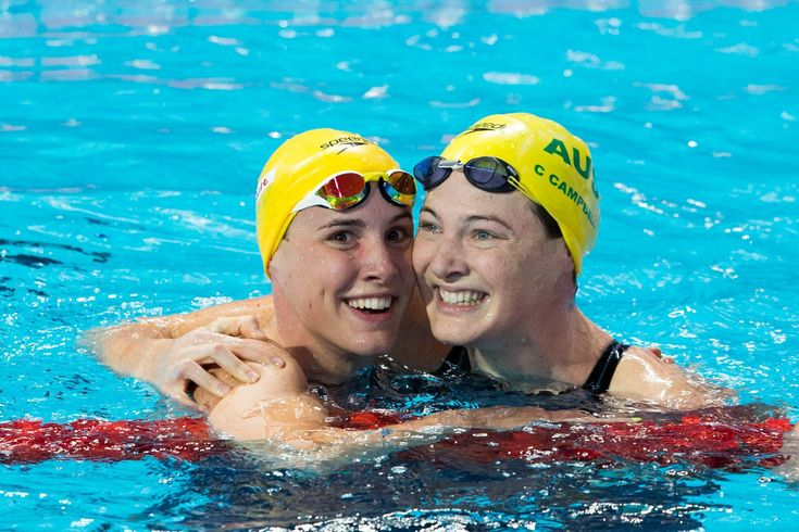 Cate Campbell Breaks 100 Free World Record By .01 Seconds