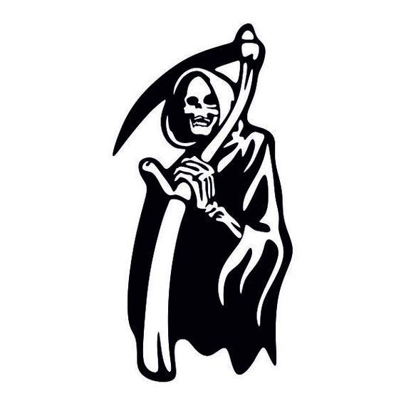 Grim Reaper Cuttable Design Png Dxf Svg Eps File For Silhouette Cameo And Cricut Grim Reaper Grim Reaper Tattoo Tattoo Set
