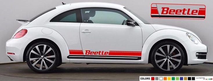 volkswagen beetle 2015 colors. stripe sticker decal for volkswagen beetle 2010 2012 2013 2014 2015 2016 mirror colors