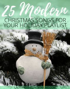 25 Best Modern Christmas Songs for Your Holiday Playlist