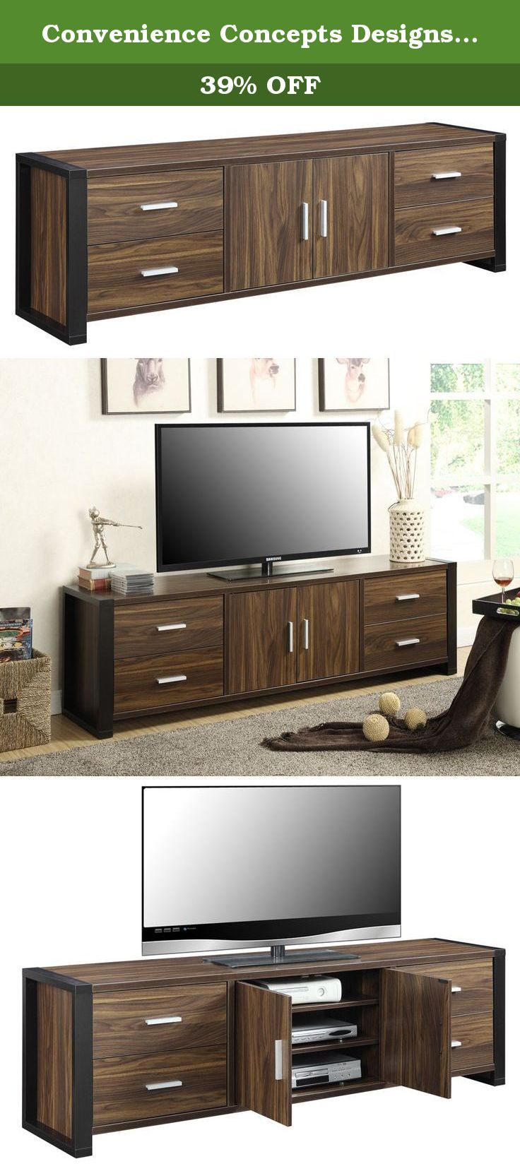 1000 ideas about 70 inch tv stand on pinterest 70 inch. Black Bedroom Furniture Sets. Home Design Ideas