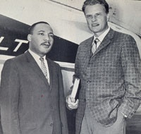 Martin Luther King Jr & Billy Grahm