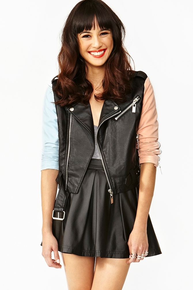 Reboot Moto Jacket. Cute. I really want a new leather jacket.