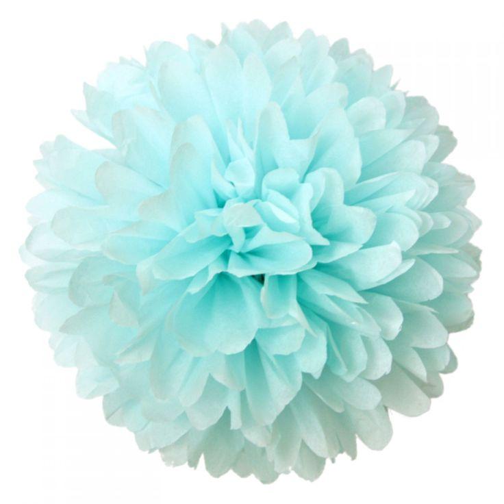 <p>Een prachtigepapieren pompom ter decoratie van je woon- of kinderkamer of als versiering bij geboorte, bruiloftenen feesten.De pompoms worden geleverd met een eenvoudige instructie om uit te vouwen en te modelleren en nylondraad ommee op te hangen.<br /><br />Alle pompoms zijn met de hand gemaakt in een kleine pompom fabriek. Elk pompom isuniek en kan variren in afmetingen en vorm. Onze pompoms worden gemaakt met heel veel lagen vloeipapier waardoor prachtige ...
