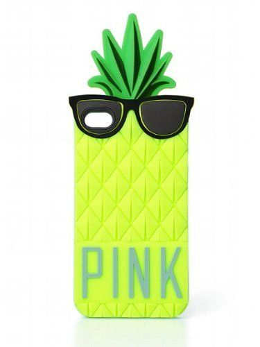 Victoria's Secret PINK Pineapple iPhone 4/4S Soft, Durable Pull-On Case by Victoria's Secret, http://www.amazon.com/dp/B00CD8H53W/ref=cm_sw_r_pi_dp_SQivsb0Y4TGYA