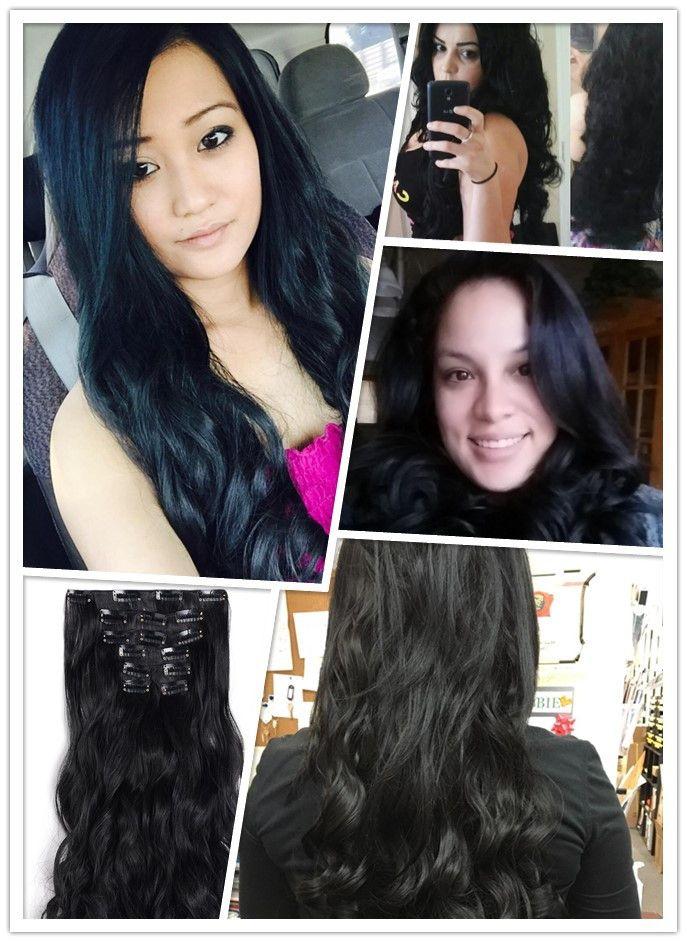 229 best customers reviews images on pinterest parties hair black clip in hair extensions pmusecretfo Gallery