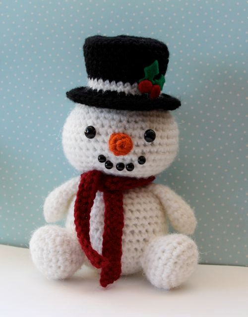 Easy Christmas Amigurumi : Best images about crochet snowmen snowwomen on