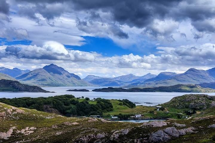 Loch Shieldaig and Upper Loch Torridon, Wester Ross. Photo from Scotland Explored.