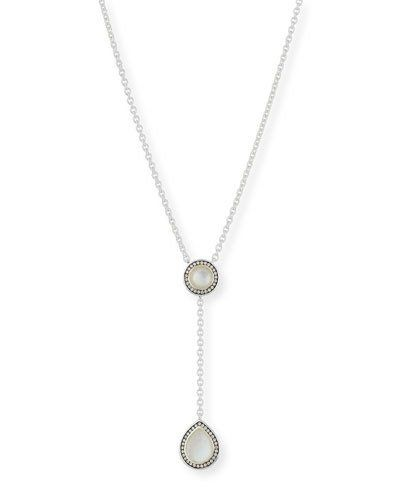 Ippolita 925 Rock Candy Pear Pendant Necklace in Mother-of-Pearl uOa1gv