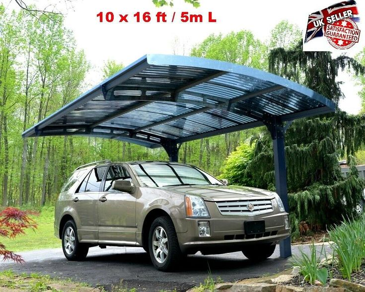 Heavy Duty Car Shed Outdoor Carport Garage Canopy