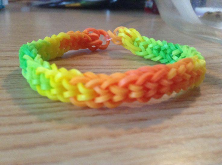 Rainbow Loom Inverted Fishtail Rainbow Looms I Made