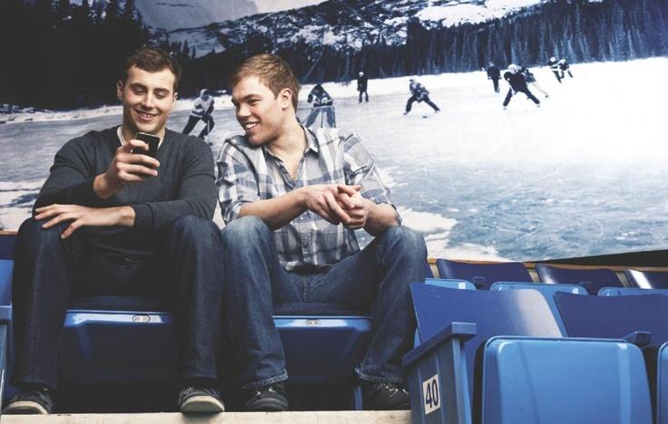 Hallsy & Ebs, an Oilers bromance.