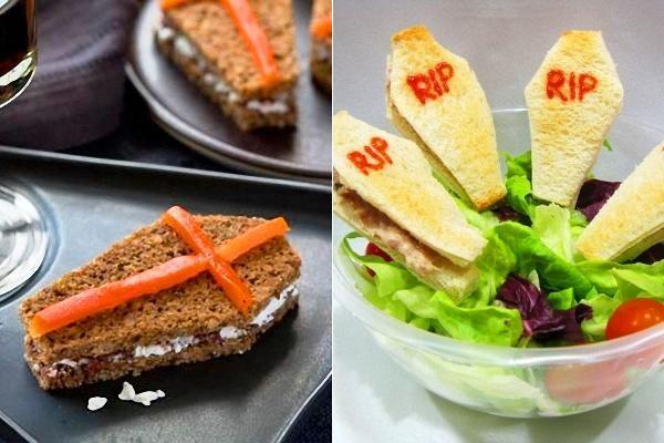 Sandwiches para Halloween, dulces o salados - Recetín