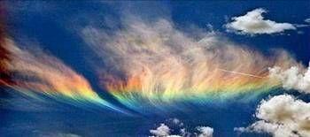 YANAN GÖKKUŞAĞIDünyanın her yerinde zaman zaman gökkuşağı oluşuyor. Ama ABD'nin Idaho Eyaleti'nde (Washington eyalet sınırında) oluşan gökkuşakları bir başka. Görenleri hem şaşrıtan hem de büyüleyen cinsten. Çünkü bu gökkuşakları bildiğimiz gökkuşaklarından çok farklı. Dağılmış gibi görünen ve bir alevi andıran gökkuşağını inceleyen bilim adamları burada meydana gelen fenomeni şöyle açıklıyorlar: Güneş ufuktan 58 derece tepede olduğu sırada, yüksek seviyede cirus tipi bulutlar oluştuğunda ve…