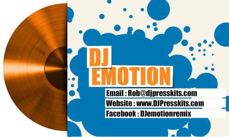 DJ business card design - Turntable
