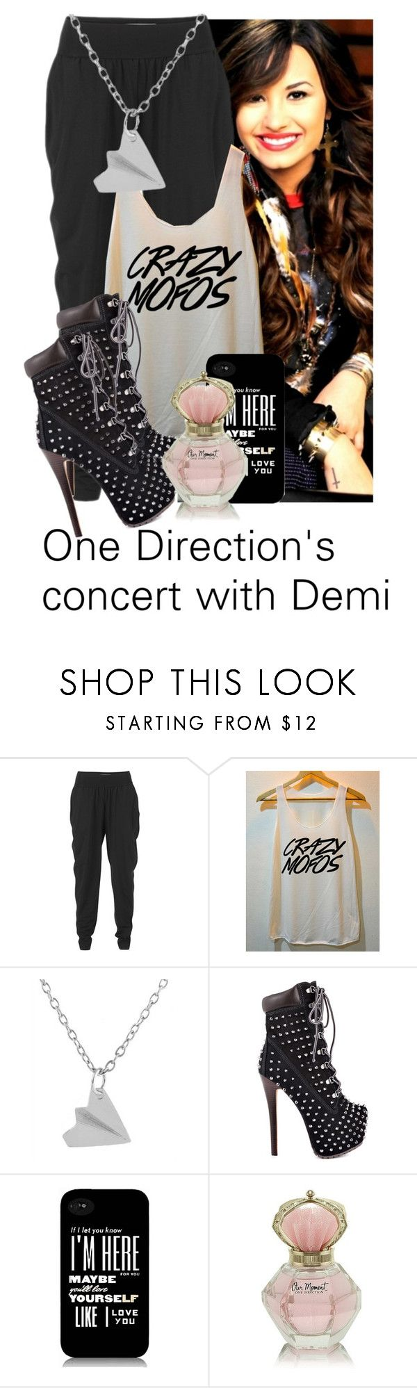 """""""One Direction's concert with Demi"""" by zarina-fashion ❤ liked on Polyvore featuring Won Hundred and ZIGIgirl"""