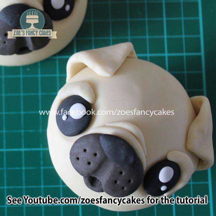 Pug cupcakes!
