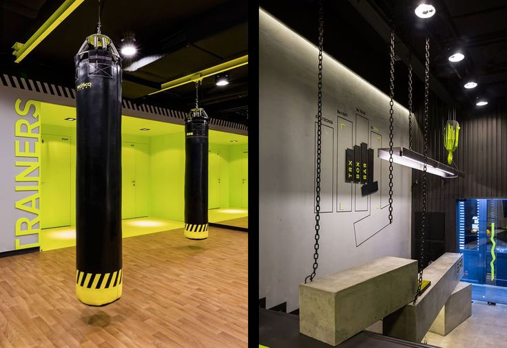 Small High Impact Decor Ideas: 54 Best Gym Interior Decor Images On Pinterest