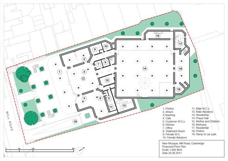 Mosque Floor Plan Mosque Pinterest Floor Plans