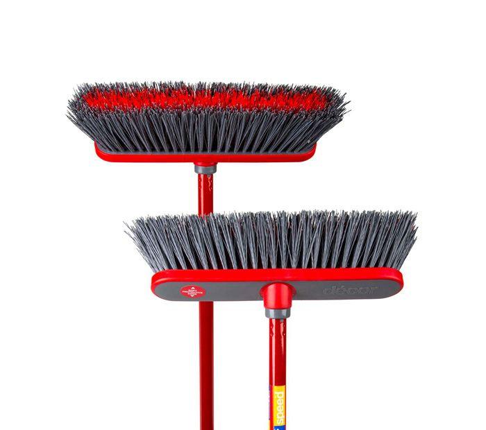 Decor Speed®Outdoor Premium Push Broom, 300mm - Decor