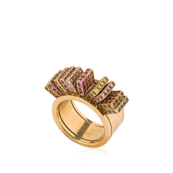Pre-owned Cartier 750 Yellow Gold Ring (1.410.360 RUB) ❤ liked on Polyvore featuring jewelry, rings, gold, 18k gold jewelry, cartier ring, 18 karat gold ring, pre owned jewelry and cartier jewelry