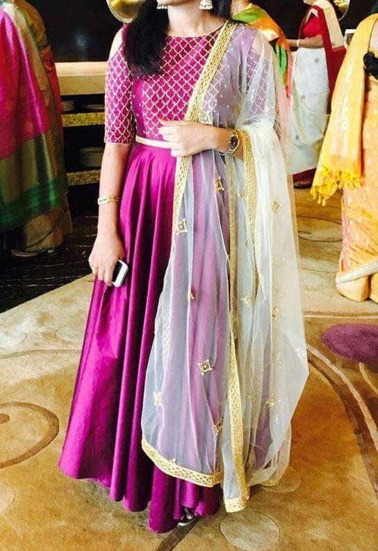 FatimaBi Designer Eid Dresses Indian Engagement Party Anarkali Floor Length Suit #FatimaBi #AnarkaliKameez