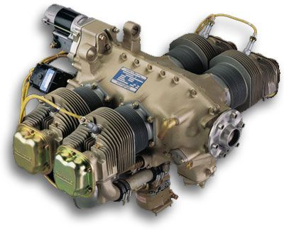 continental engine | Continental Motors O-200-A or O-200-D Lightweight Aircraft Engine