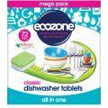 Ecozone Dishwasher Tablets Classic - Pack of 72 | Ethical Superstore £11.99
