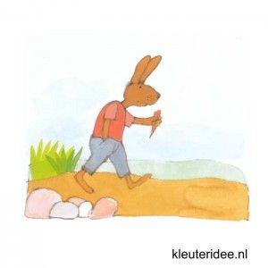 Gymles voor kleuters thema lente 4, kleuteridee.nl