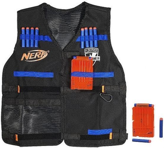 Nerf Tactical Vest Utility Elite Strike Dart Gun Ammo Darts Holder Kids Toy Gift #Hasbro