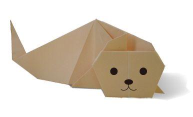 Origami・sea dog2