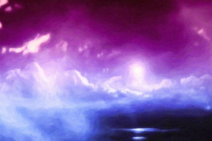Galactic Dawn by Almine