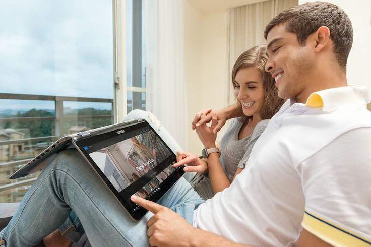 El VivoBook Flip de Asus, es un computador 2 en 1 muy versátil que reúne en un solo dispositivo lo mejor de dos mundos.