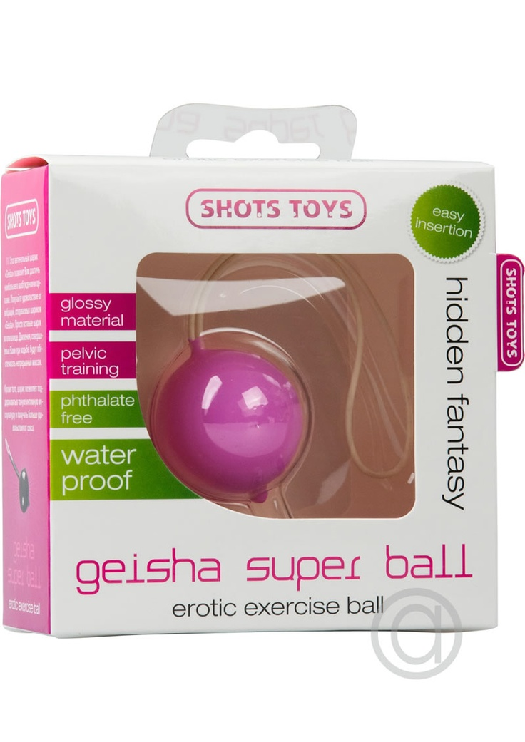 Geisha Super Orgasm Ball!