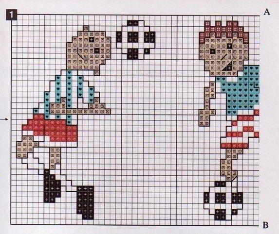 Lenzuolo lettino punto croce giocatori di calcio (2)