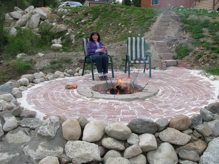 Homemade Fire Pits : In Ground Fire Pit Design Ideas. Homemade ...