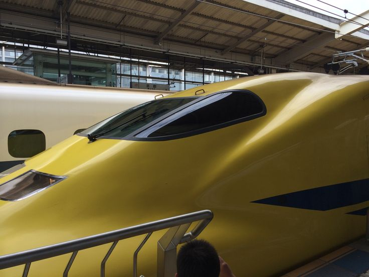Doctor Yellow train in Kyoto, Japan!