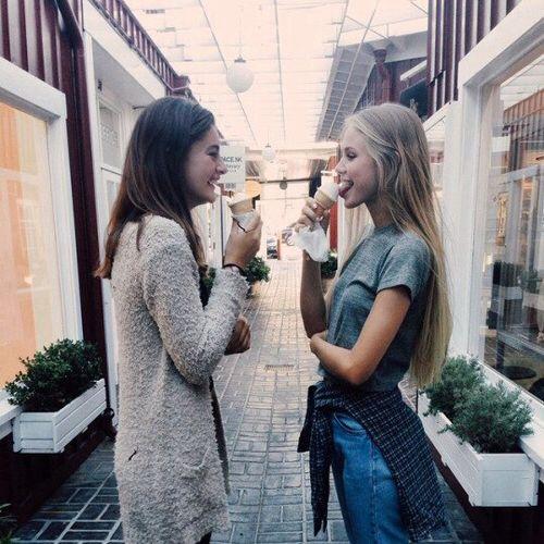 pinterest || vjb11 Friend pictures! Ice cream pictures