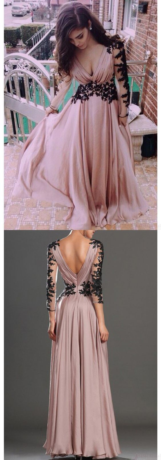 Charming Prom Dress,Appliques Formal Dresses,Charming Evening Dresses