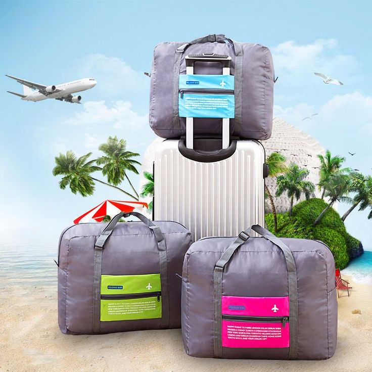 Foldable WaterProof Nylon Travel Bag Unisex http://mobwizard.com/product/foldable-waterproof-32685163912/