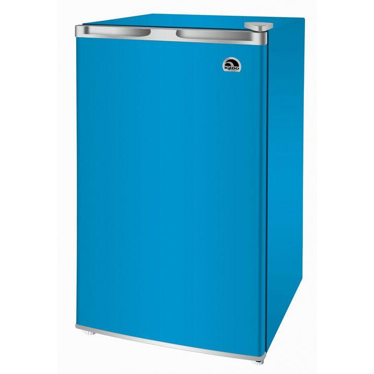 Igloo 3.2 Cu. Ft. Compact Refrigerator - Blue