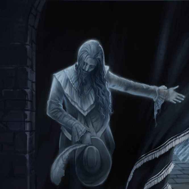 Nearly Headless Nick Greets Guests At His Deathday Party