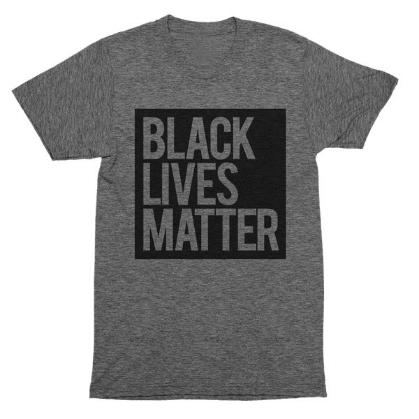 Blvck Supply | Black Lives Matter Grey Unisex T-Shirt