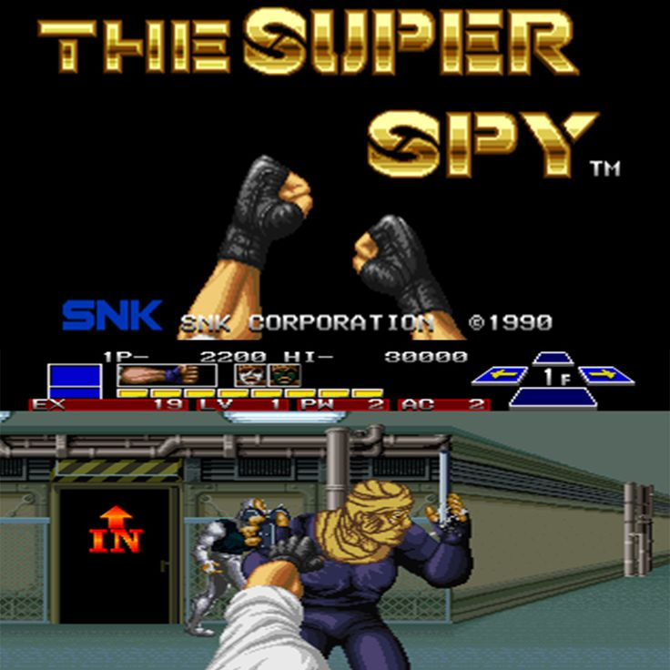 The Super Spy - D4 Enterprise / SNK 1990 (Neo Geo MVS)  #1uparcade #retroarcade #1uparcadebrisbane #gaming #brisbane #australia