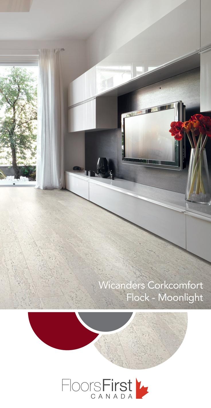corkcomfort wrt planks are a greenguard certified floating floor solution flooring cork floating floorflooring ideascork flooringhome