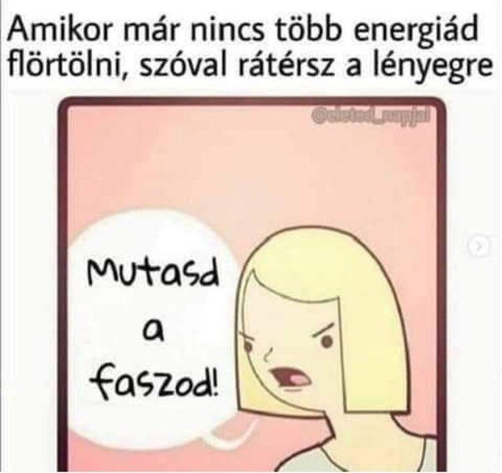 flörtölni vicces)