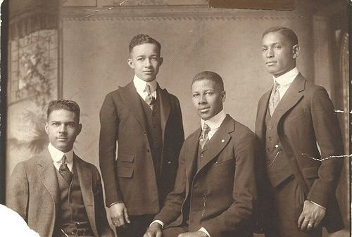 J. Alston Atkins, Charles A. Chandler, Mifflin Gibbs, and Leroy Pierce - Yale Law Graduates, 1921